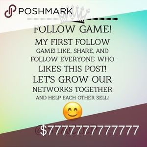 FOLLOW GAME.  LET'S MAKE SOME SALE TODAY